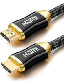 5m Premium 4K HDMI Cable 2.0 High speed Gold Plated Braided Lead 2160P 3D HDTV UHD ,5m HDMI Cable 4k